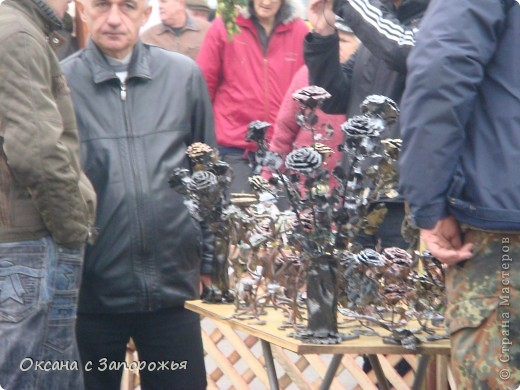 """Девятого октября (в эту субботу) наше Запорожье отмечало """"День города"""", на Набережной проходила ярмарка. Вот некоторые работы которые мне удалось заснять - так сказать которые больше всего заинтересовали. фото 22"""