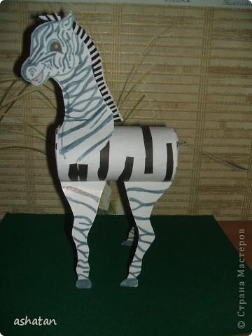 Сегодня смотрели DVD фильм BBC про зебр.    И захотелось нам завести свою собственную зебру    фото 8