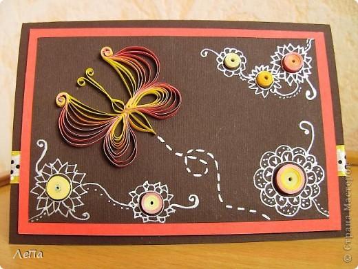 Вот такая открытка родилась у меня под впечатлением от этого МК http://stranamasterov.ru/node/44289 от Anjuta. Анна,спасибо Вам большое!!!! Не смогла пройти мимо Вашего Аленького просто так.)))) Руки требовали начать работу прямо в 2 часа ночи,еле дожила до утра!!!))) Не знаю куда ее определю,но думаю будет подаренна на День Рождения тетушке (она обожает мои рукоделки)))). А мне самой эта открытка очень нравится!!! фото 1