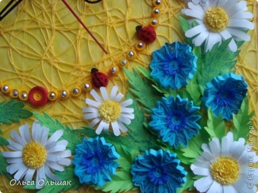 """Дорогие мастерицы! Представляем вашему вниманию наш творческий семейный проект часы  под названием """"Цветы России"""".Надеемся успешно защитить его в этом учебном году со старшей дочерью Катериной   на школьной и районной научно-практической конференции. фото 2"""