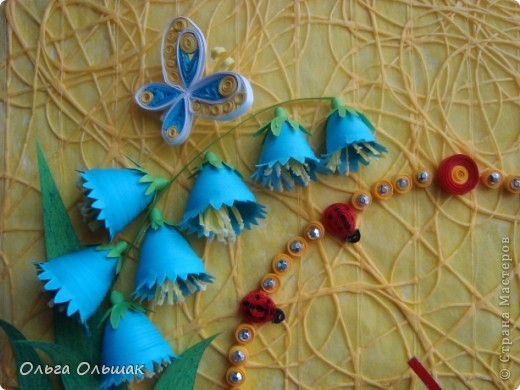 """Дорогие мастерицы! Представляем вашему вниманию наш творческий семейный проект часы  под названием """"Цветы России"""".Надеемся успешно защитить его в этом учебном году со старшей дочерью Катериной   на школьной и районной научно-практической конференции. фото 4"""