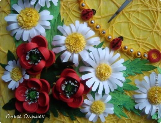 """Дорогие мастерицы! Представляем вашему вниманию наш творческий семейный проект часы  под названием """"Цветы России"""".Надеемся успешно защитить его в этом учебном году со старшей дочерью Катериной   на школьной и районной научно-практической конференции. фото 5"""