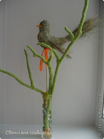 Еще одна птичка. Загрузила ее вчера, но она улетела. Наверное, полетела в теплые края... да решила вернуться. фото 1