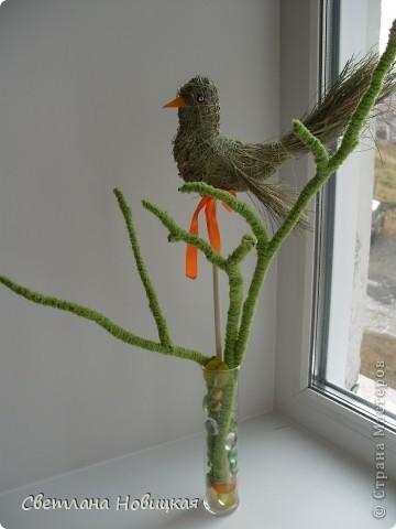 Еще одна птичка. Загрузила ее вчера, но она улетела. Наверное, полетела в теплые края... да решила вернуться. фото 4
