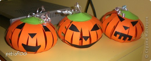 Тыкви для Хэллоуин фото 3