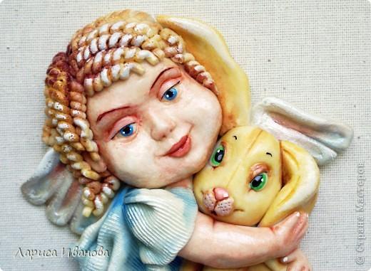 Ангел с кроликом фото 3