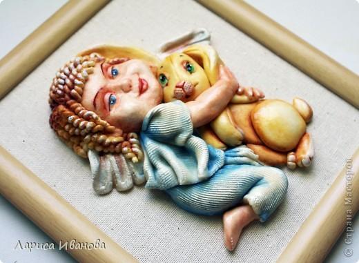 Ангел с кроликом фото 1
