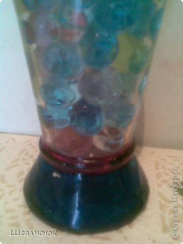 Бутылочка заполненная растущими шариками. фото 4