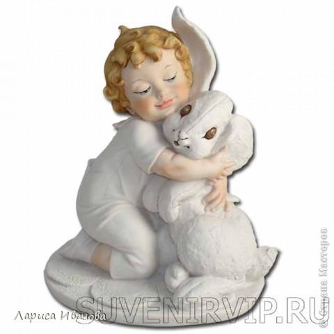 Ангел с кроликом фото 6