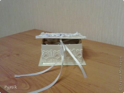коробочка для колец фото 1
