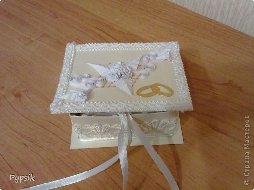 коробочка для колец фото 3