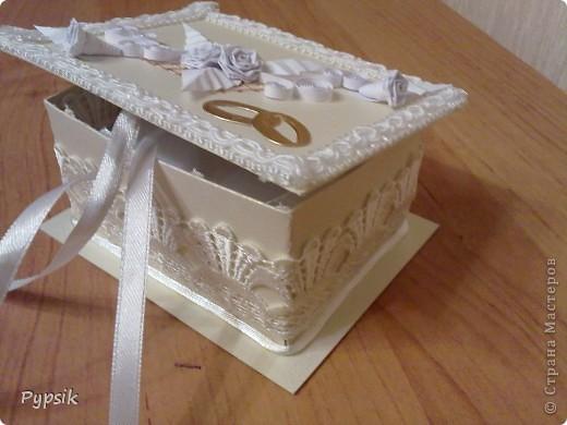 коробочка для колец фото 2