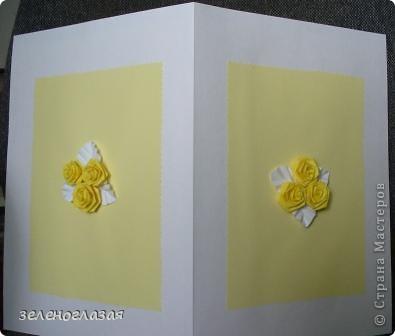 Оформление внутри открытки фото 3