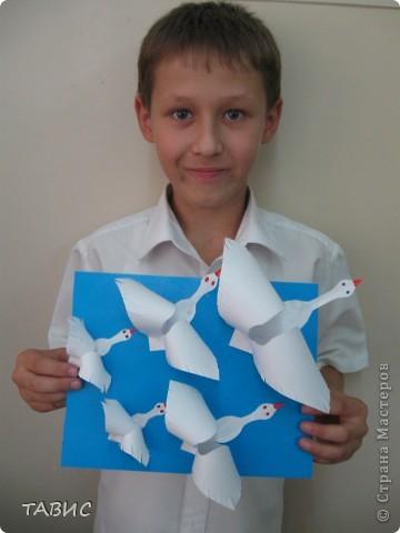 Спасибо Люблюбумагу за прекрасную идею и МК http://stranamasterov.ru/node/25721 ! Моим мальчишкам ТАК ПОНРАВИЛОСЬ!!! фото 3