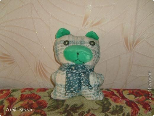 Эти игрушки давным-давно делала моя дочка, еще когда в школе училась. Мышь зеленая. Такая же, только синяя, уехала жить к племяннику в Алтай,  до сих пор прекрасно себя чувствует.  фото 3
