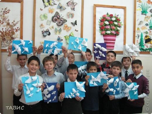 Спасибо Люблюбумагу за прекрасную идею и МК http://stranamasterov.ru/node/25721 ! Моим мальчишкам ТАК ПОНРАВИЛОСЬ!!! фото 4