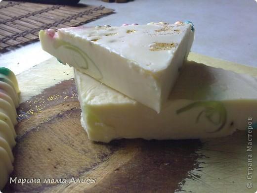 """Моё второе мыло сварено на молоке.тоже из""""Агуши"""" фото 2"""
