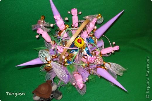 Букет из конфет 5 фото 2