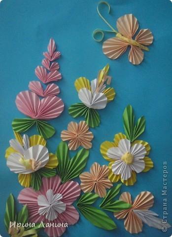 оригами (гафрирование бумаги)