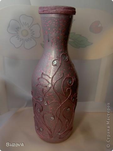 декор бутылок фото 21