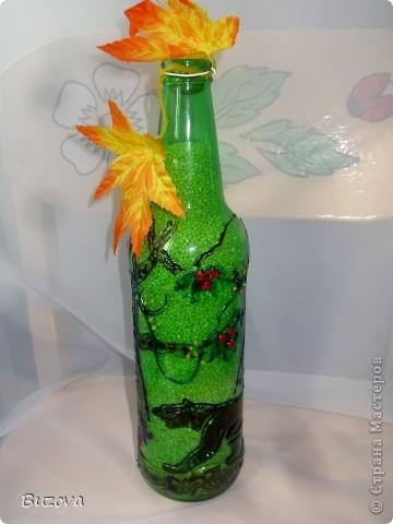 декор бутылок фото 22