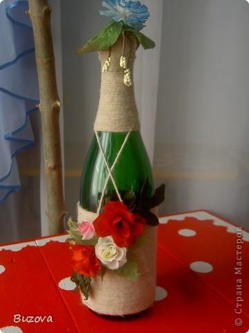 декор бутылок фото 19