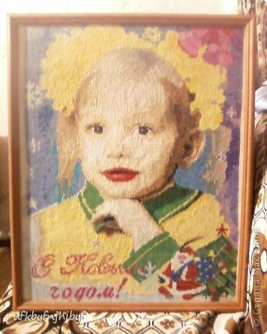 Портрет внучки Катюши.