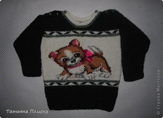 Детский свитерок фото 1