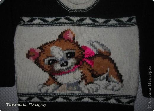 Детский свитерок фото 2