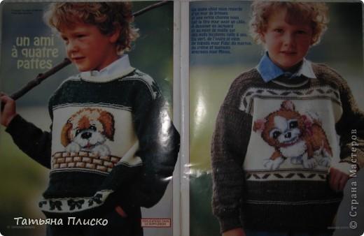 Детский свитерок фото 3