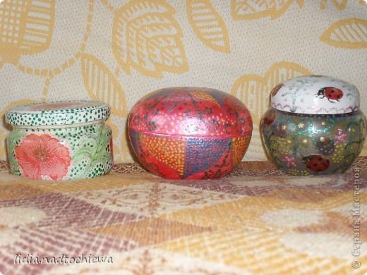 баночки от крема и стеклянная баночка. фото 1