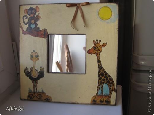 Зеркало детское