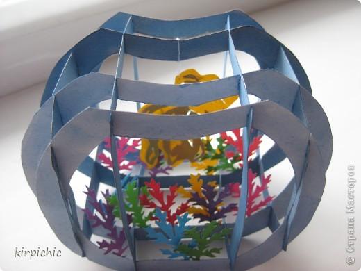 Сделать аквариум своими руками из бумаги видео