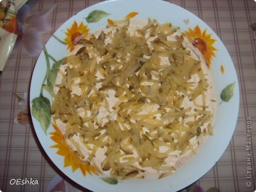 Салат с печенью трески. фото 4