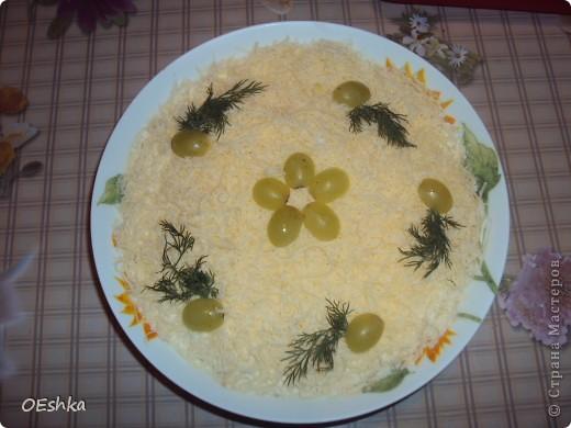 Салат с печенью трески. фото 1