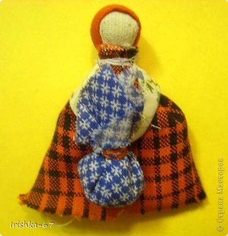 """МК кукла """"Подорожница"""" фото 7"""