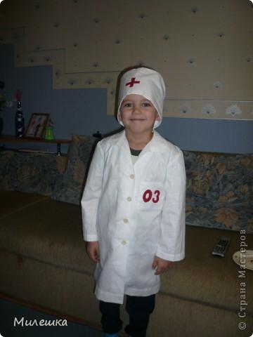 Костюм врача в детский сад своими руками
