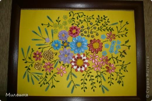 Цветочная фантазия из семян