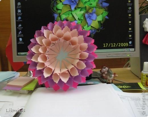 Вот такие фантазии навеяли мне простые бумажные кулечки. Как такой объект использовать - можно подискутировать. По- моему есть что-то от кусудамы, а? фото 4