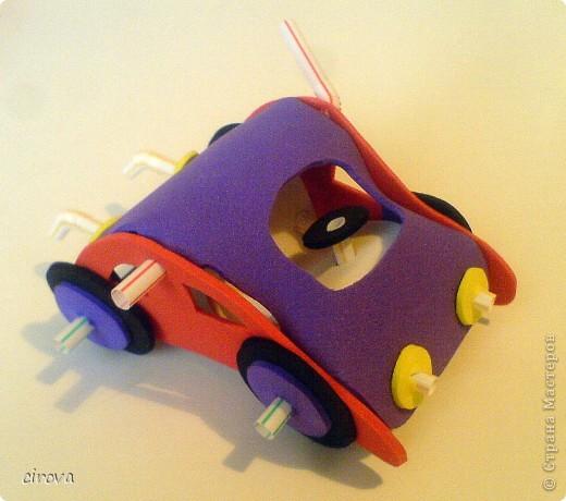 Машинки появились на свет благодаря замечательной идее и МК Елены ( Хвостики  ). фото 6