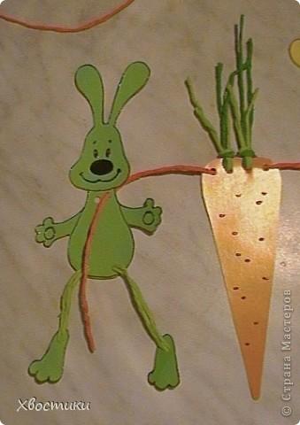 Задобрим символ Нового года - ЗАЙЦА? Какой же заяц не мечтает о морковке? А лучше о морковке размером с самого зайца? Воплотим его мечту в жизнь, а заодно и украсим свой дом весёлой гирляндой!!! фото 24