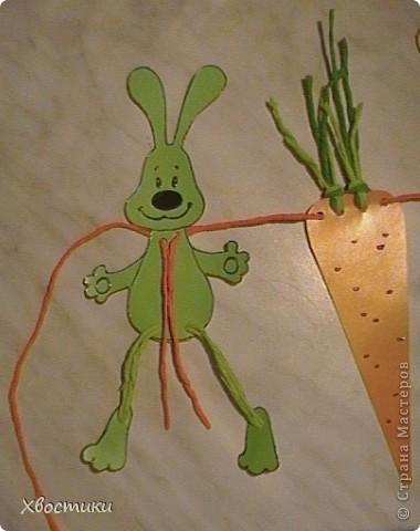 Задобрим символ Нового года - ЗАЙЦА? Какой же заяц не мечтает о морковке? А лучше о морковке размером с самого зайца? Воплотим его мечту в жизнь, а заодно и украсим свой дом весёлой гирляндой!!! фото 25