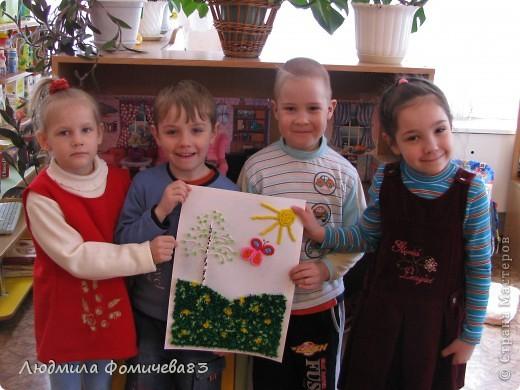 """""""Весна пришла"""" выполнили дети старшей группы, работа была созданна 12 мая 2010 года фото 1"""