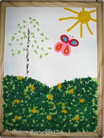 """""""Весна пришла"""" выполнили дети старшей группы, работа была созданна 12 мая 2010 года фото 2"""
