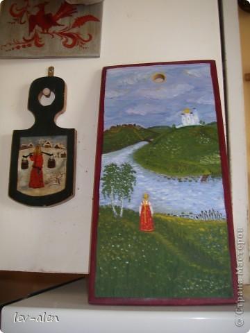 Еще две работы 20-летней давности. Расписаны маслянными красками. фото 1