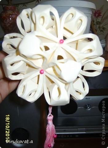 Мой цветочный шар. Воспользовалась идеей Vitulichka в блоге http://stranamasterov.ru/node/90083?tid=451 фото 2