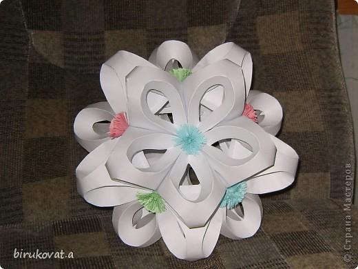 Мой цветочный шар. Воспользовалась идеей Vitulichka в блоге http://stranamasterov.ru/node/90083?tid=451 фото 4