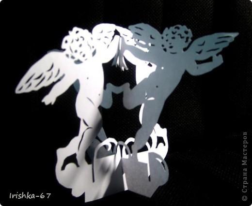 """""""Вечерний ангел"""" + схема фото 4"""