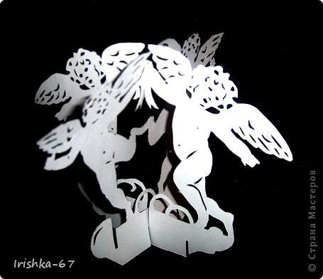"""""""Вечерний ангел"""" + схема фото 3"""