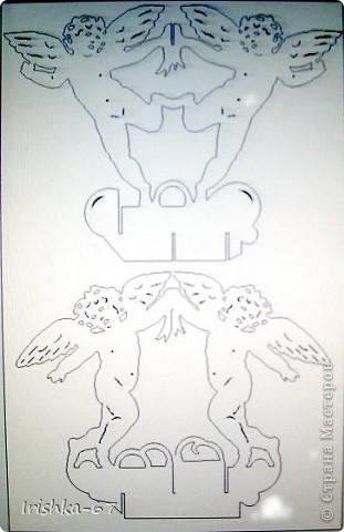 """""""Вечерний ангел"""" + схема фото 5"""